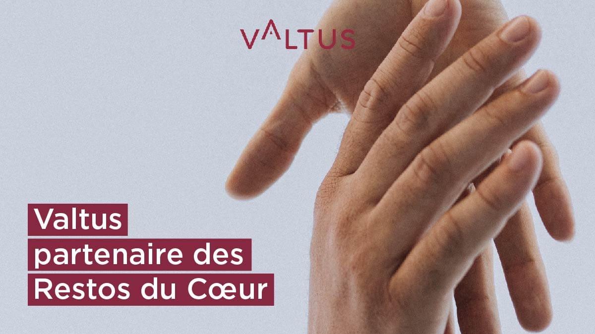 Valtus partenaire des Restos du Coeur